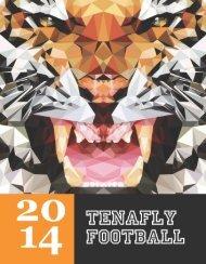 Tenafly Tigers 2014 Football Journal