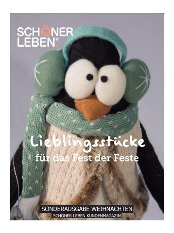 SCHÖNER LEBEN Magazin Weihnachten 2014