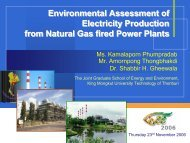 Environmental Assessment of Electricity Production from Natural ...