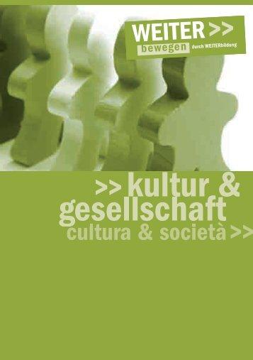 kultur & gesellschaft kultur & gesellschaft - urania meran