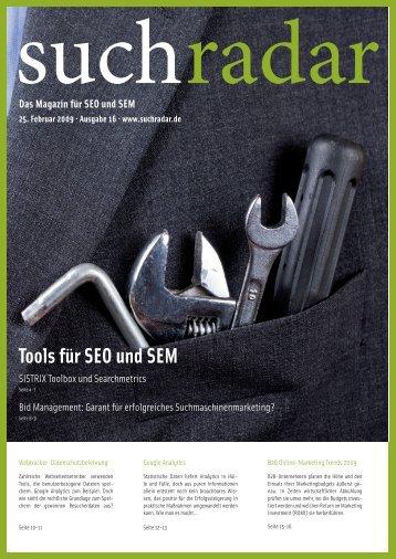 Suchradar Artikel 2009 - Blue Summit Media GmbH