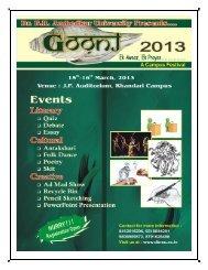 Goonj-2013 A Campus Festival