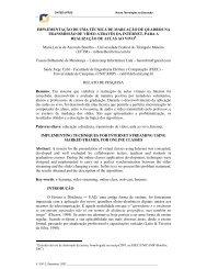 IMPLEMENTAÇÃO DE UMA TÉCNICA DE ... - cinted/ufrgs