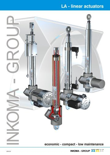 LA - linear actuators - INKOMA-GROUP