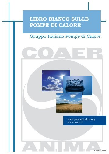 LIBRO BIANCO SULLE POMPE DI CALORE - Pontani Service
