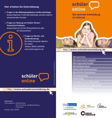 schüler online - Berufskollegs in Münster