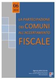"""Vademecum """"La partecipazione dei comuni all'accertamento fiscale"""""""