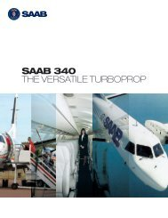 SAAB 340 THE VERSATILE TURBOPROP - Saab Aircraft Leasing