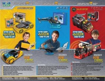 View 2013 Worx Toys Brochure - Diversetoy.com