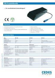TPS Produktfamilie - Cedes.com