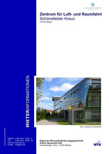 MIETER INFORMA TIONEN - Zentrum für Luft- und Raumfahrt