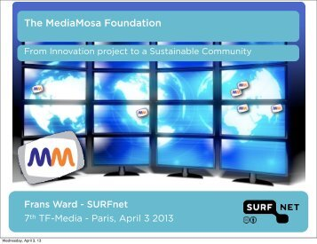The MediaMosa Foundation - Terena
