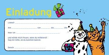 Einladung - Karstadt