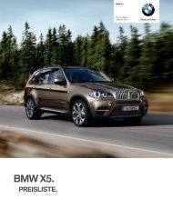 Aktuelle Preisliste - BMW.com
