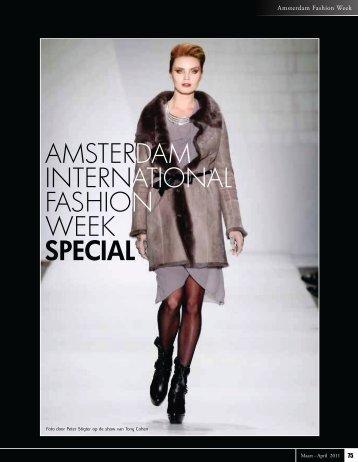 Amsterdam Fashion Week zomercollectie 2011 - Society World ...