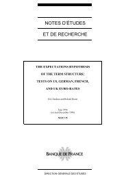 Download the working paper no 35PDF - Banque de France