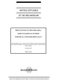 Download the working paper no 136PDF - Banque de France