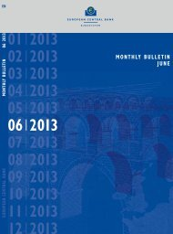 ECB Monthly Bulletin, June 2013 - European Central Bank - Europa