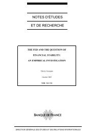 Download the working paper no 134PDF - Banque de France