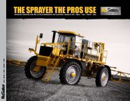 THE SPRAYER THE PROS USE - Kelly Tractor