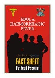 EBOLA VIRUS FACT SHEET