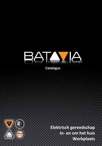 Elektrisch gereedschap In- en om het huis Werkplaats - Batavia GmbH