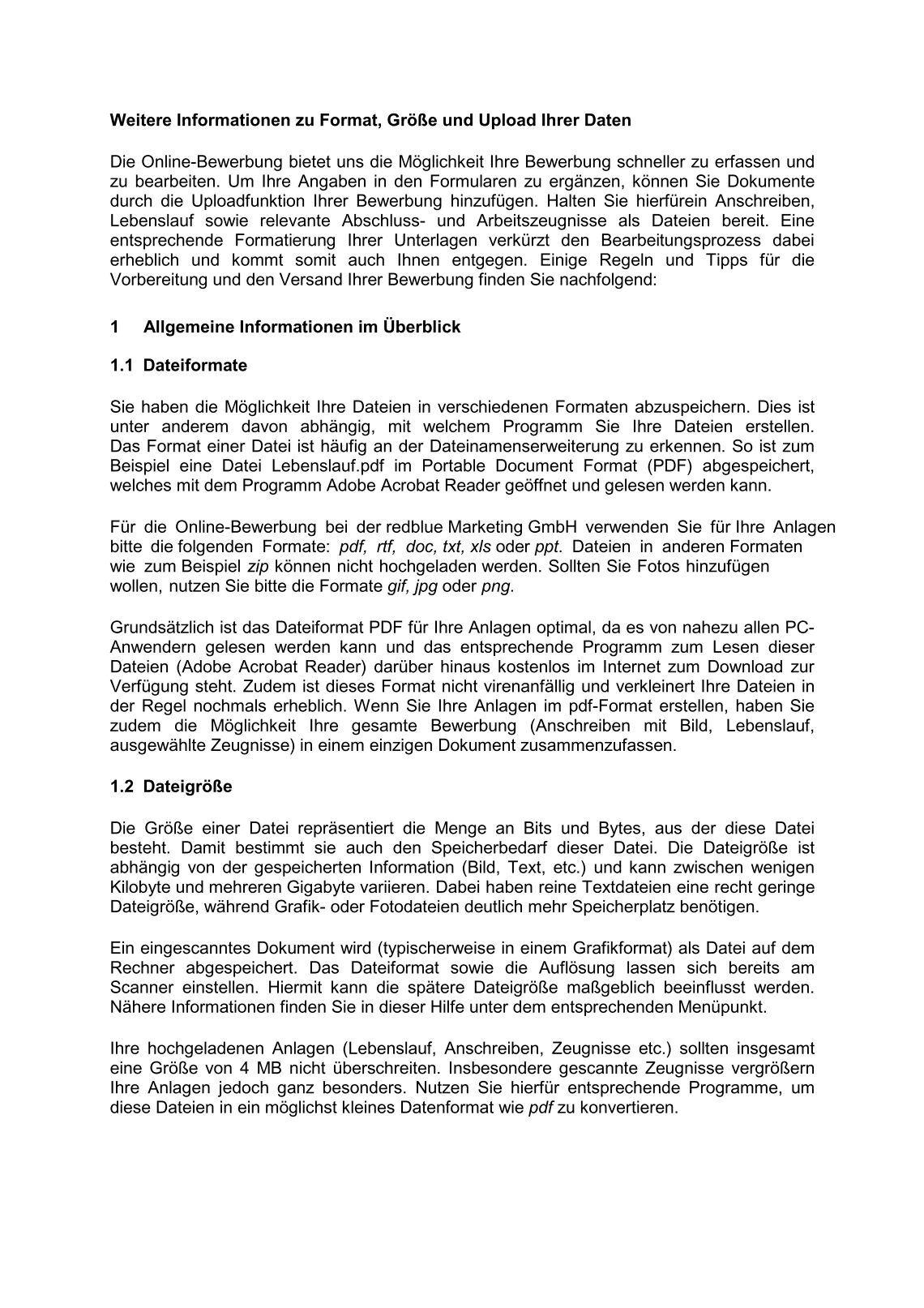 schritt step 2 die onlinebewerbung the online application melden sie ...