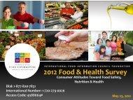 2012 Food & Health Survey - International Food Information Council ...