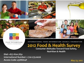 2012 Food & Health Survey - International Food Information Council ...