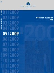 Monthly Bulletin May 2009 - European Central Bank - Europa