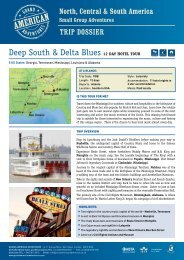Deep South & Delta Blues 12 Day hotel tour - Adventure Holidays ...