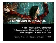 Getting Your Data Out of Mariner D t A d R ti B t P ... - Serena Software