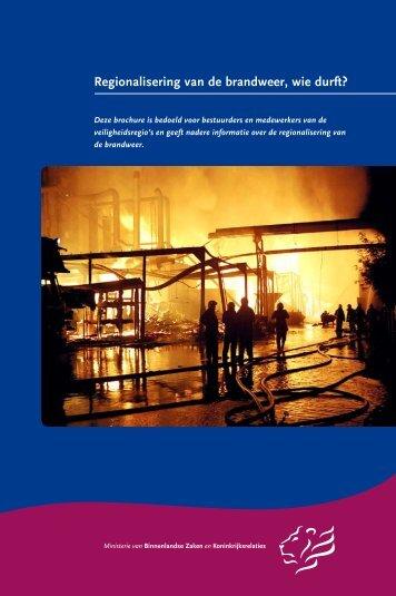 Regionalisering, wiedurft?.pdf - BrandweerKennisNet