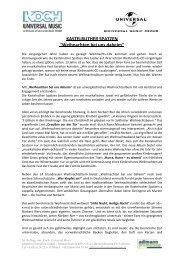 KASTELRUTHER SPATZEN - adlmann promotion