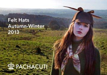 Felt Hats Autumn-Winter 2013 - London Fashion Week