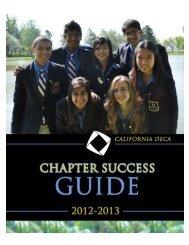 2012-13 California DECA Chapter Success Planner