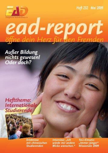 EAD-Report Heft 232 - EAD direkt