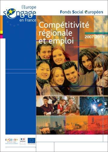 compétitivité régionale et emploi 2007-2013 - L'Europe s'engage en ...