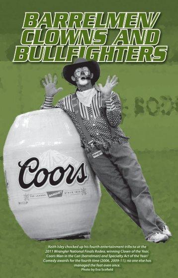 Bullfighters, Clowns, Barrelmen - ProRodeo