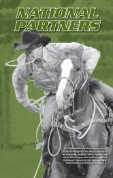 PRCA National Partners - ProRodeo