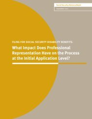 What Impact Does Professional Representation Have on the ...