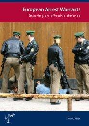 Ensuring an effective defence - European Criminal Bar Association