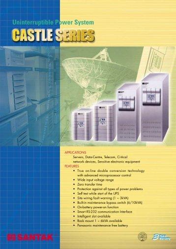 SANTAK C1K Catalogue