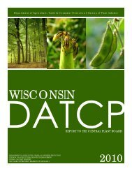 2010 CBP Report - Pest Survey