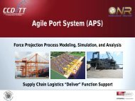 Agile Port System - Maritime Administration