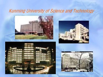 Kunming University of Science and Technology (KUST) - IP-Unilink