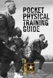 Pocket Physical Fitness Guide