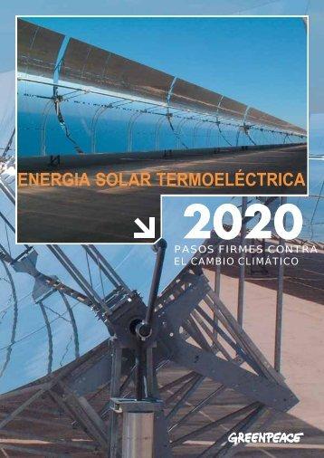 energia solar termoeléctrica - SolarPACES