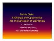 Debris Disks: Challenge and Opportunity for The Detection of ...