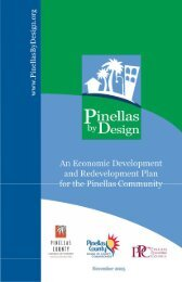 Chapter 3: Plan Framework - Pinellas County Economic Development